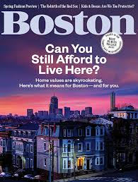 Boston Mag March Cover