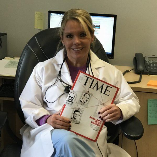 Dr Anna Berik featured in Time Magzine